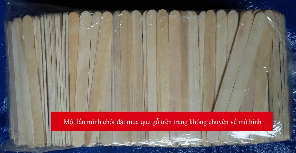 Bạn rất dễ mua nhầm que kem gỗ này trên thị trường